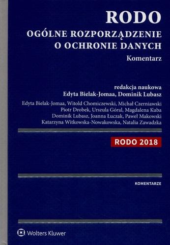 7f66f0c9cb6cf9 RODO - ogólne rozporządzenie o ochronie danych : komentarz - Katalog ...